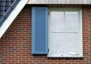 Kunststof vensterluiken Buitenpost