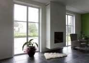 Binnenkant woning Friesland kunststof kozijnen