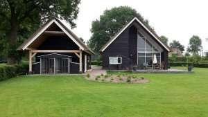 Kunststof Kozijnen Houtnerfstructuur Drenthe (Hooghalen)